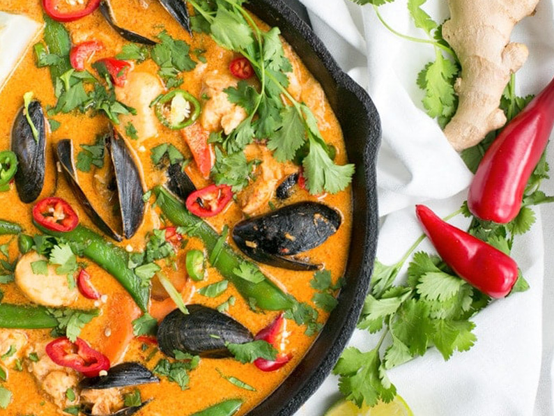 Thai Red Fish Curry