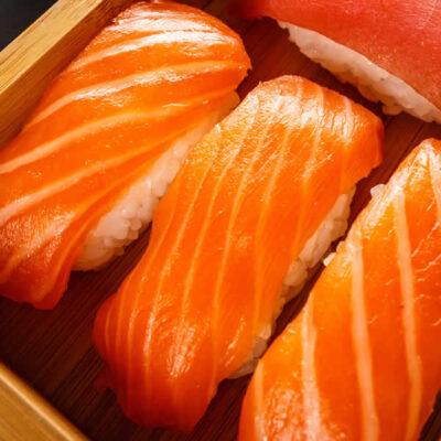 Sashimi Ora Salmon